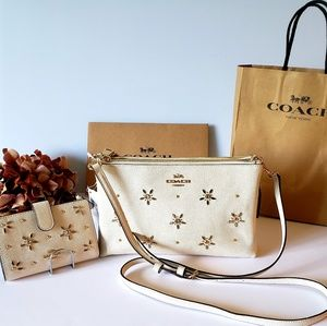 Coach Disney Lyla Studded Crossbody Bag & Wallet